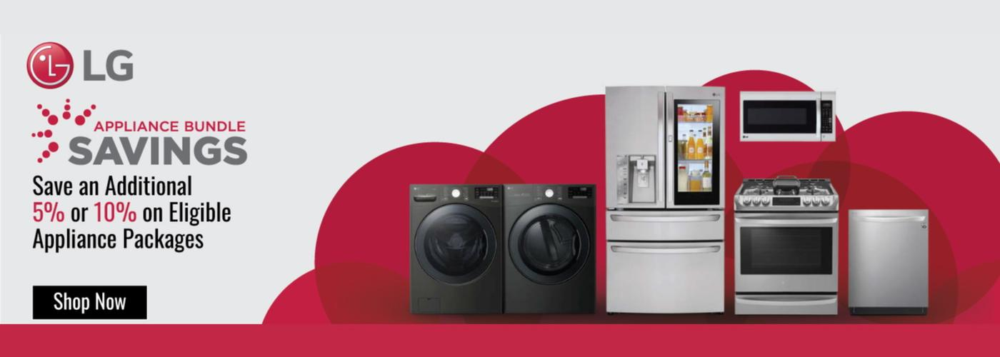 LG Appliance Bundle Savings July 2020