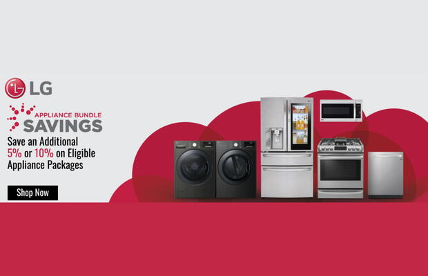 LG Appliance Bundle Savings July 2020