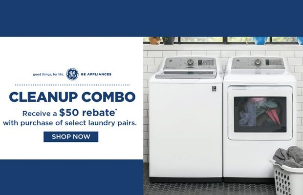 GE Laundry Clean Up Combo Nov 2020