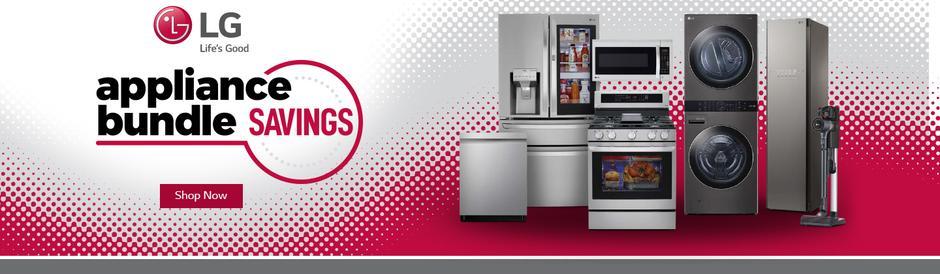 LG Appliance Bundle Savings Feb-May 2021
