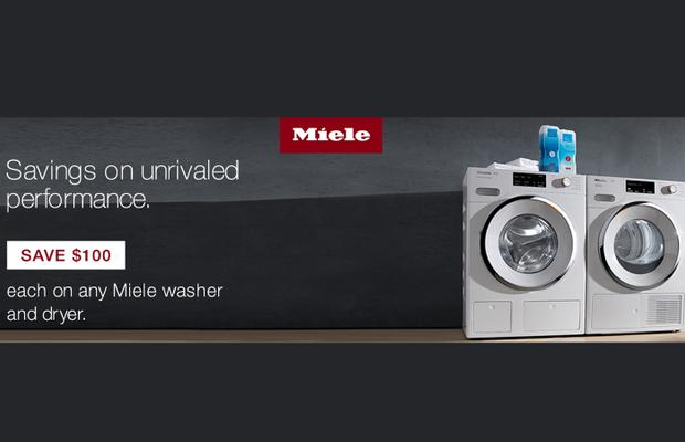 Miele $100 Laundry April 2020
