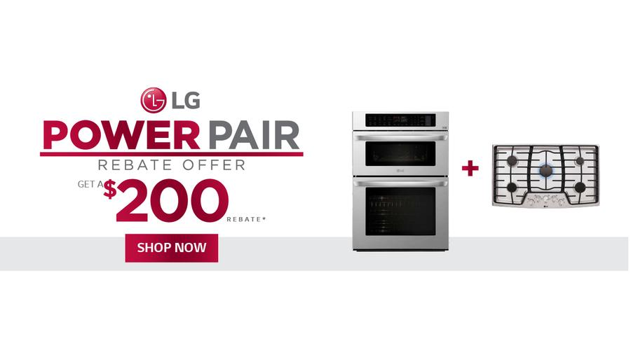LG Power Pair Rebate August-October 2021