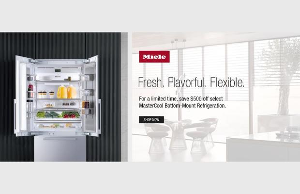 Miele $500 Refrigerator Rebate Nov 2020