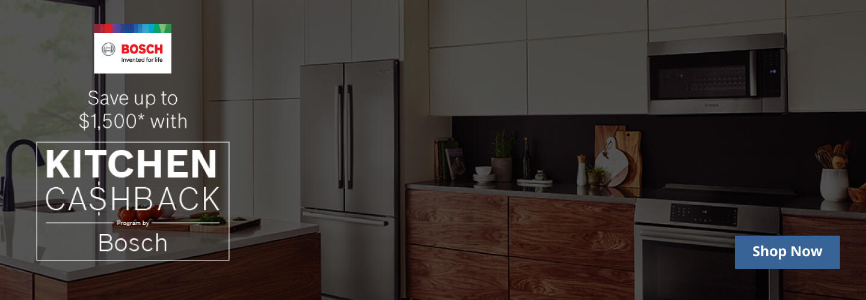 Bosch Kitchen Package Rebate July 2020