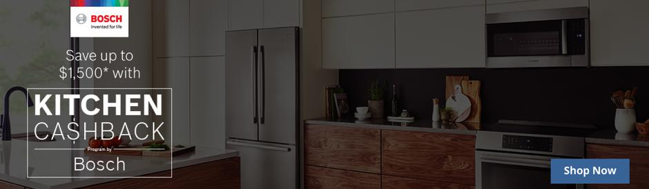 Bosch Kitchen Package Rebate July 2020