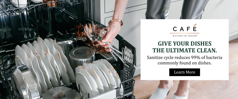 Cafe Appliances Sanitize Feature 2020