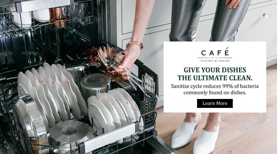 Cafe Appliances Sanitize Feature 2021