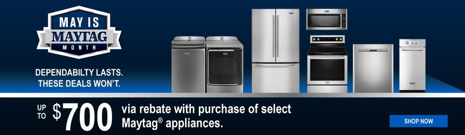 May is Maytag Month 2020