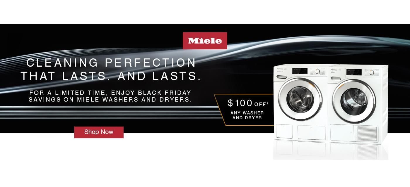 Miele $100 Laundry Rebate November 2020