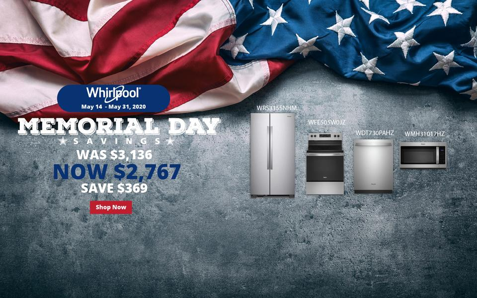 Whirlpool NEAEG Memorial Day 2020