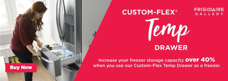 Frigidaire Gallery Custom-Flex Temp Drawer 2020