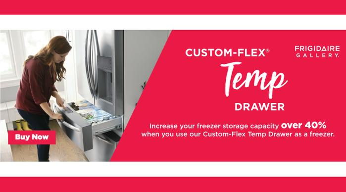 Frigidaire Gallery Custom-Flex Temp Drawer 2020
