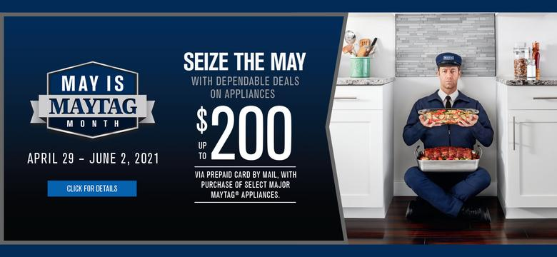 May is Maytag Month Ignite LT 2021