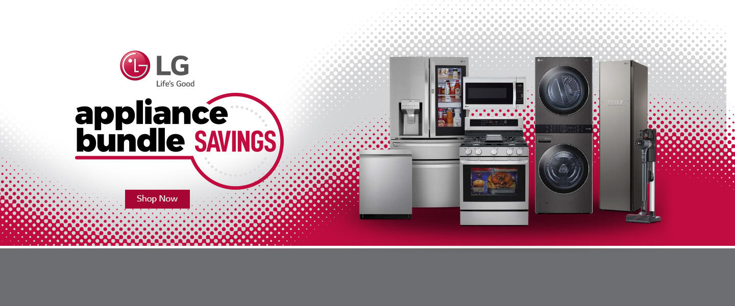 LG Appliance Bundle Savings Jan-Feb 2021