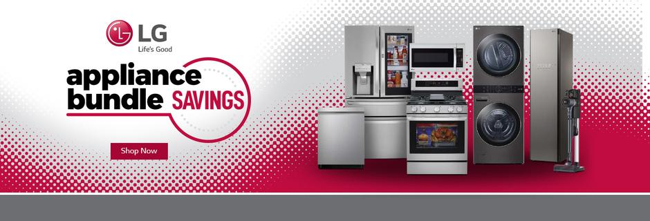 LG Appliance Bundle Savings Jan-Feb 2021
