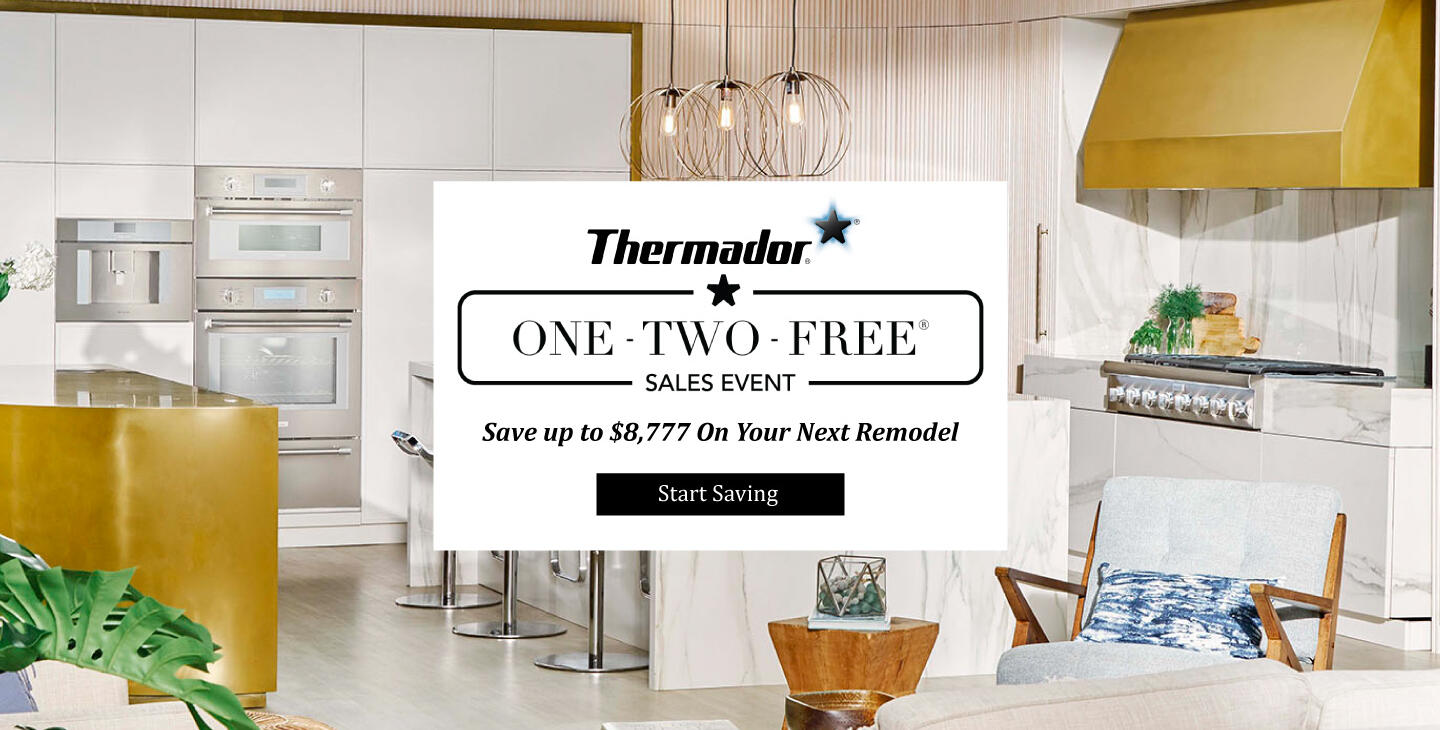 Thermador One-Two-Free Sales Event April-Dec 2020