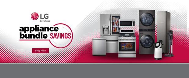 LG Appliance Bundle Savings July-Nov 2021