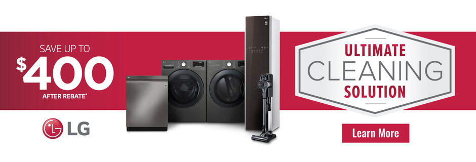 LG Ultimate Cleaning Solution April 2020