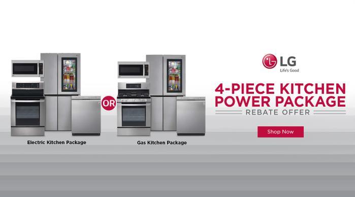 LG 4 Piece Kitchen Power June 2020