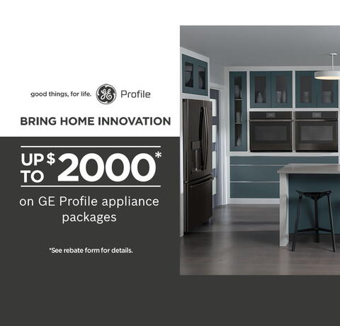 GE Profile Bring Home Innovation July 2020