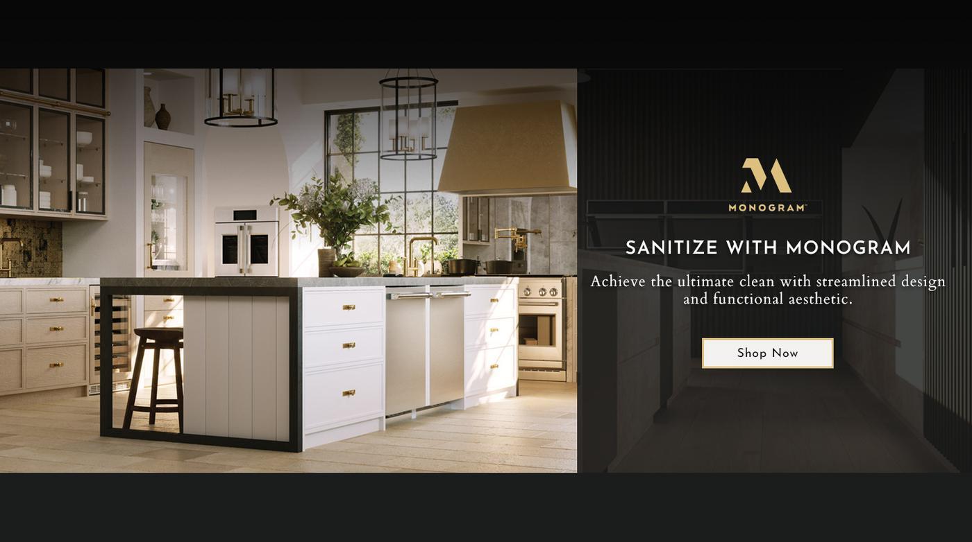 Monogram Appliances Sanitize Feature 2020