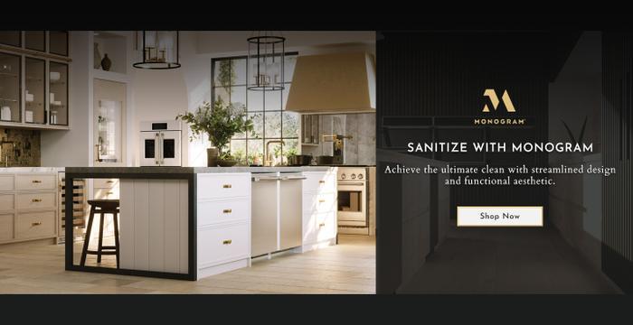 Monogram Appliances Sanitize Feature 2021
