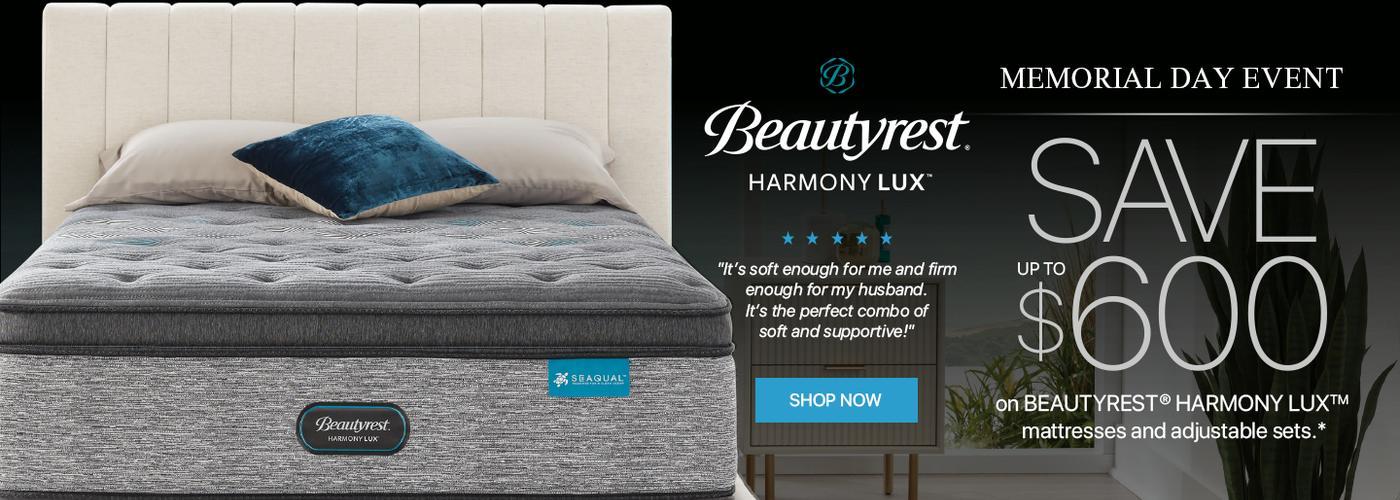 Beautyrest Harmony Lux Memorial Day 2021