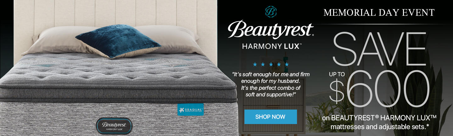 Beautyrest Harmony Lux Memorial Day 2021