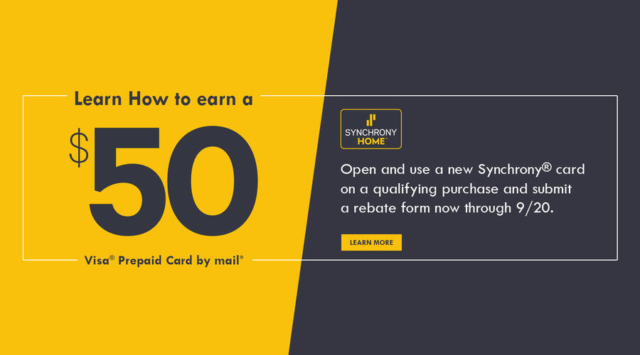 Synchrony Rebate August 2020