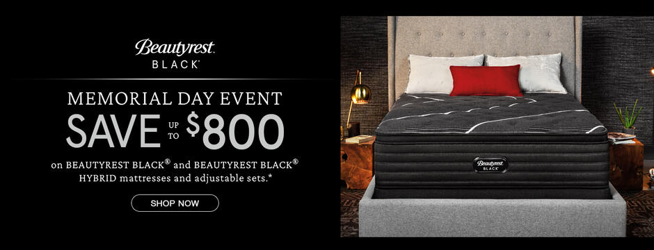 Beautyrest Black Memorial Day Event Organic 2020