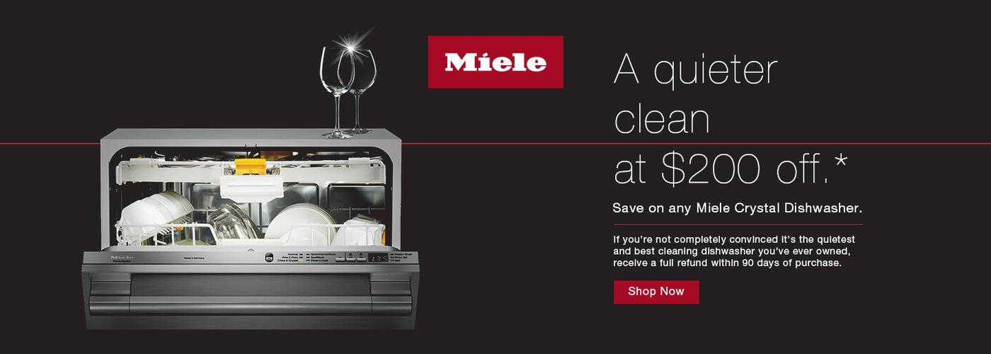 Miele Crystal Dishwasher April 2020