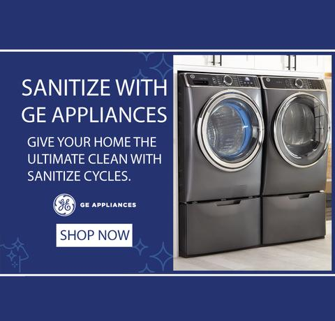 GE Appliances Sanitize Feature 2020