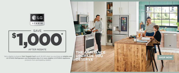 LG STUDIO Kitchen Bundle Offer 2021