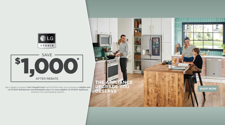 LG STUDIO Kitchen Bundle Offer 2021