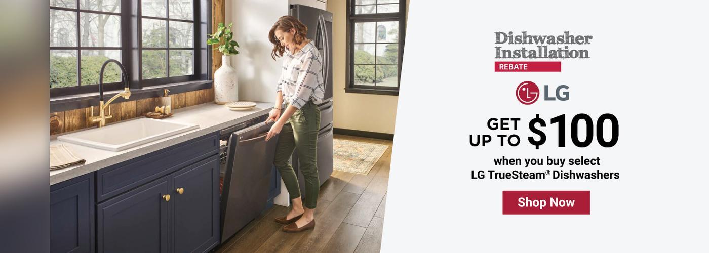 LG Dishwasher Installation April-May 2021