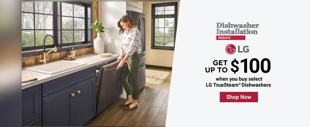 LG Dishwasher Installation April-May 2021