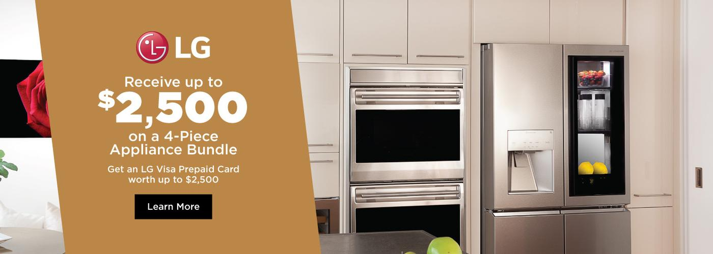 LG SIGNATURE Appliance Bundles April 2020