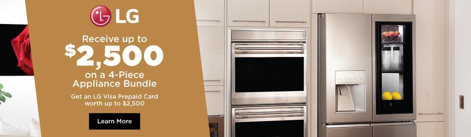 LG SIGNATURE Appliance Bundles April 2020