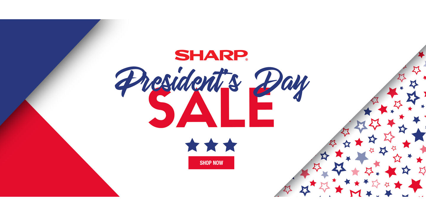 Sharp Presidents Day 2021