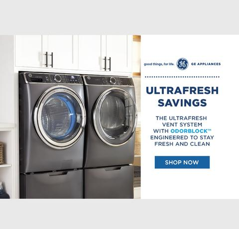 GE Appliances Memorial Day Laundry 2020