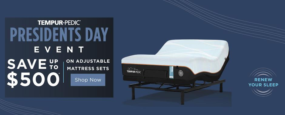 Tempur-Pedic Presidents Day 2021