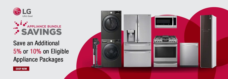 LG Appliance Bundle Savings August 2020