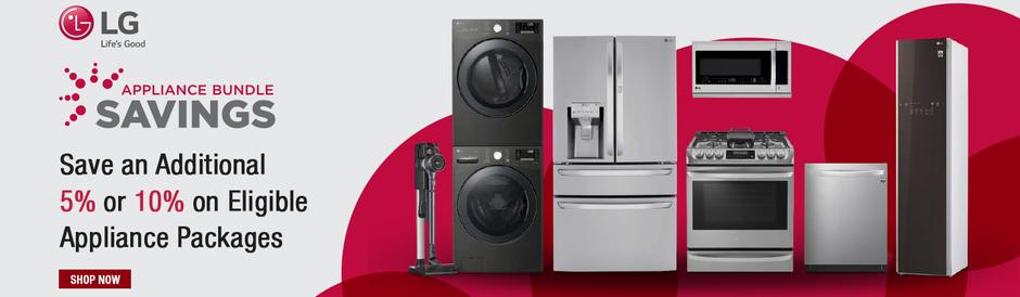 LG Appliance Bundle Savings August 2020