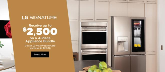 LG SIGNATURE Appliance Bundle July 2020