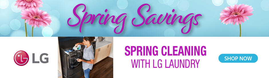 LG NEAEG Spring Savings 2021