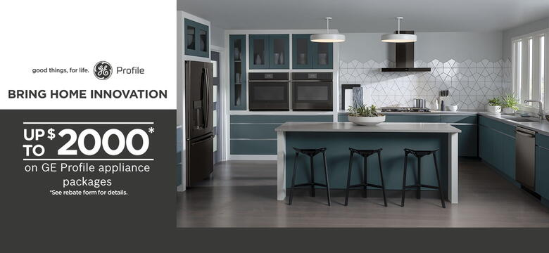GE Profile Bring Home Innovation July 2020