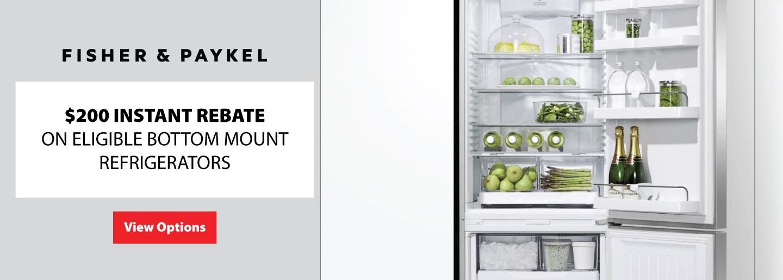Fisher & Paykel $200 Refrigerator Rebate July 2020