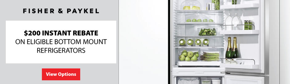 Fisher & Paykel $200 Refrigerator Rebate July 2020