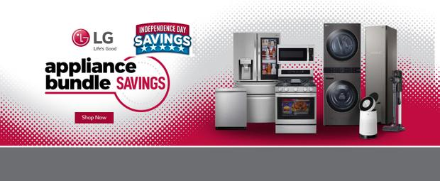 LG Independence Day Savings June-July 2021