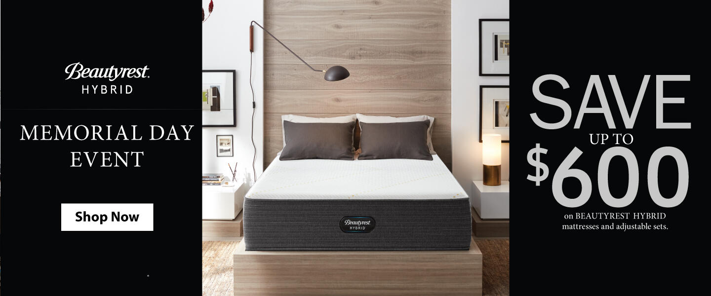 Beautyrest Hybrid Memorial Day 2020